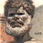 Aboriginal from Tiwi Australia