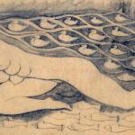 Mermaid pencil sketch