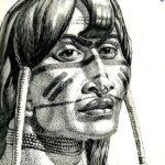 Portrait of a Jivaro Indian, Costa Rica